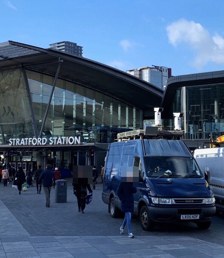 Stratford London Met Police Facial Recognition